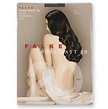 FALKE Pure Matt 20 Strumpfhose, platinum