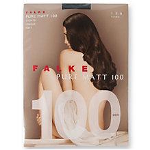 FALKE Pure Matt 100 Strumpfhose, hellgrau
