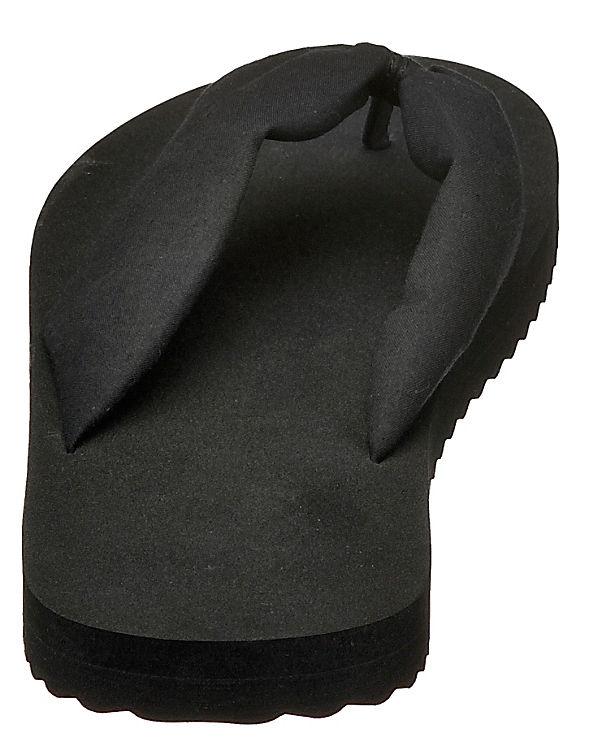 flip flop tex tube Pantoletten schwarz