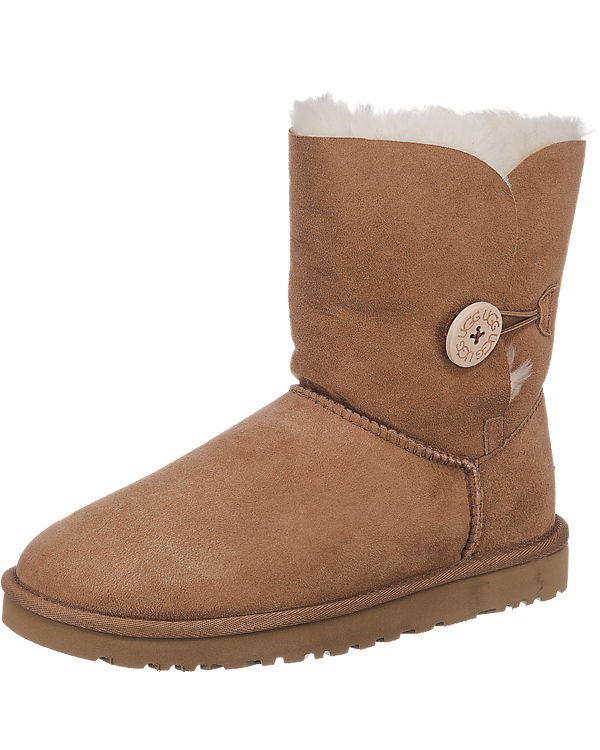UGG Bailey Button Stiefel cognac
