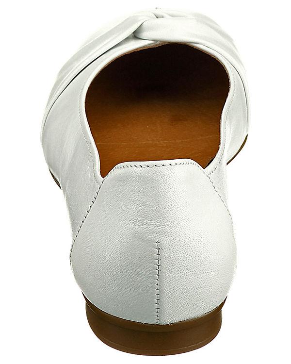 Gabor Ballerinas weiß