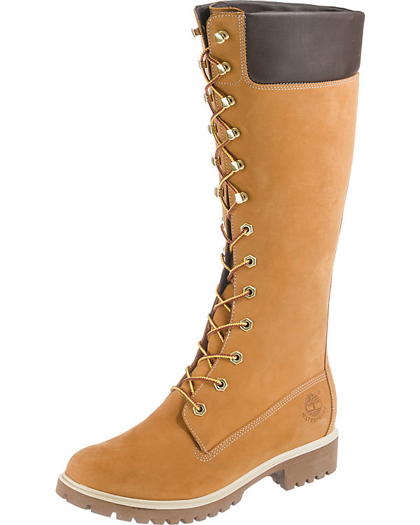 Timberland Woms Prem 14In Stiefel hellbraun