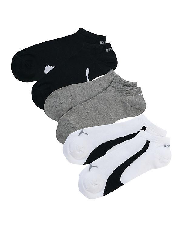 PUMA 3 Paar Sneaker Socken mehrfarbig