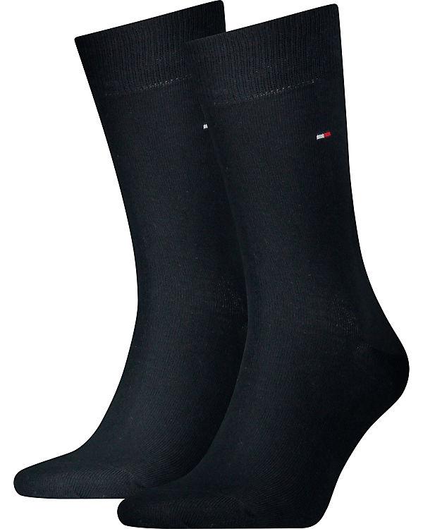 TOMMY HILFIGER 2 Paar Socken dunkelblau