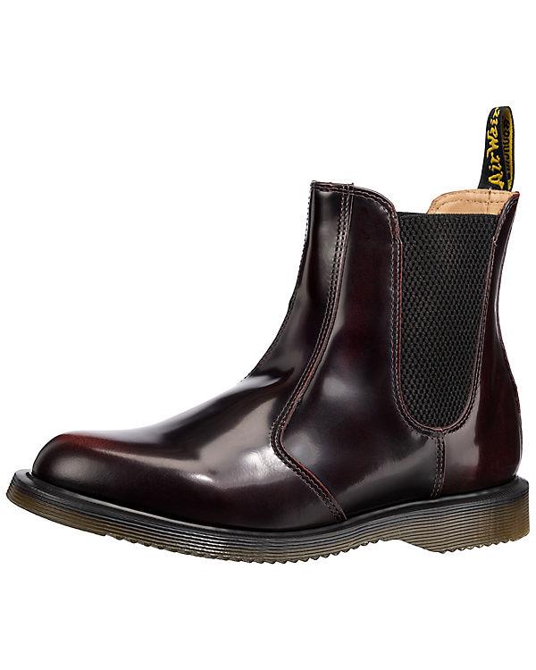 Flora Chelsea Boots dunkelrot