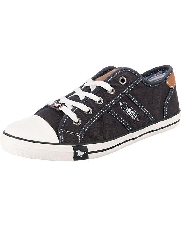 MUSTANG Sneakers schwarz