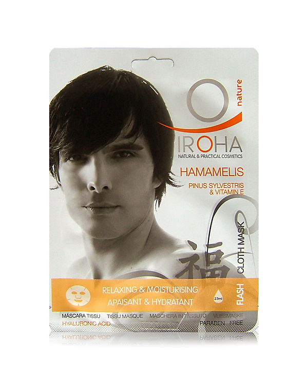 Iroha Gesichtsmaske For Men Hamamelis & Vitamin E
