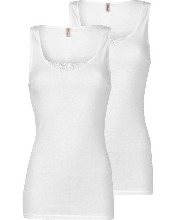 Triumph Unterhemd Yselle Doppelpack weiß