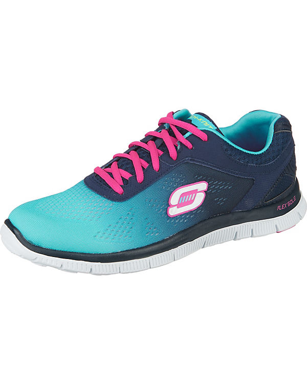 SKECHERS Flex Appeal Style Icon Sneakers blau