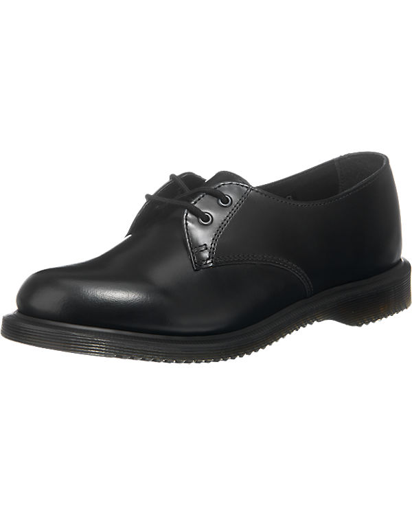 Dr. Martens Brook Polished Smooth 2 Eye Halbschuhe