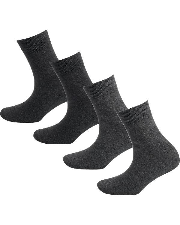 s.Oliver 4 Paar Socken grau-kombi