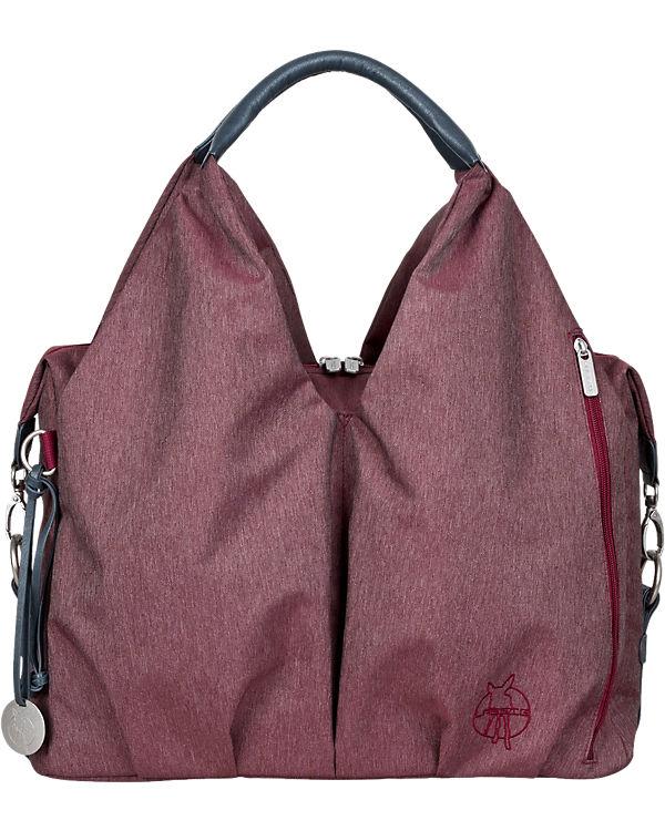 Lässig Wickeltasche Greenlabel, Neckline Bag Ecoya, Burgundy Red rot