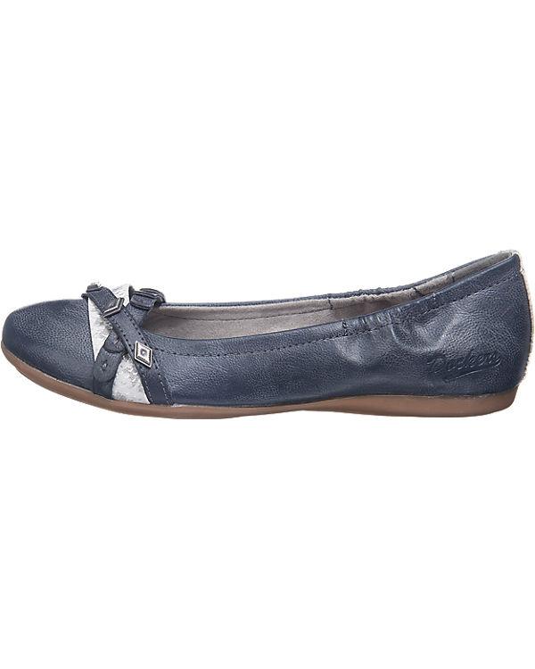 Dockers by Gerli Ballerinas dunkelblau