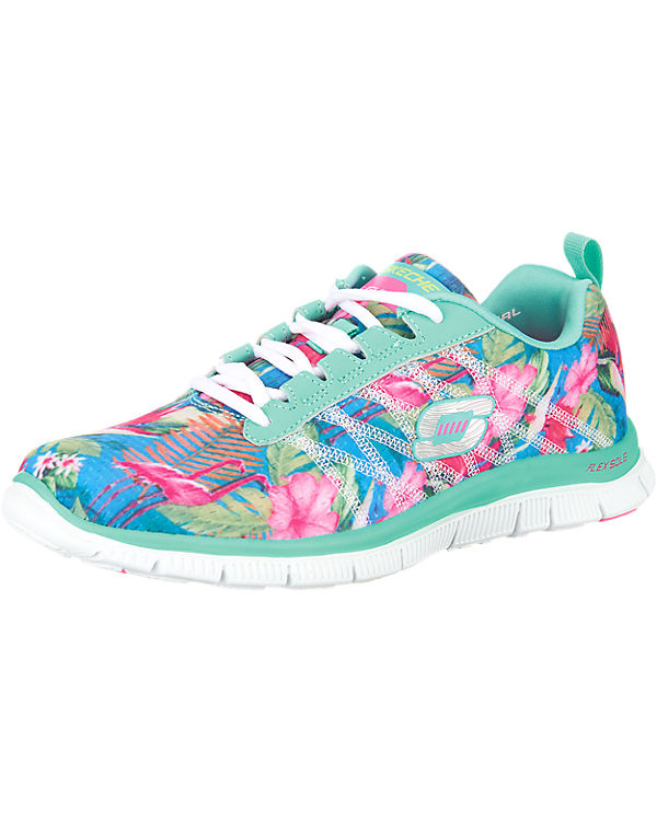 SKECHERS Flex Appeal Floral Bloom Sneakers mehrfarbig