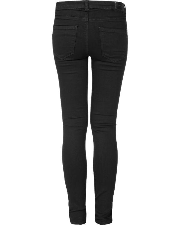 VERO MODA Jeans Slim schwarz
