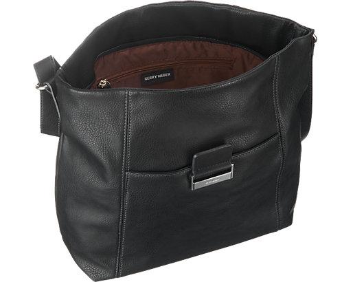 gerry weber be different handtasche gerry weber schwarz handtaschen. Black Bedroom Furniture Sets. Home Design Ideas