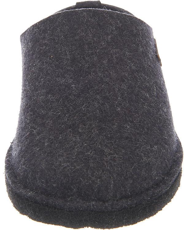 Soft Pantoffeln dunkelgrau