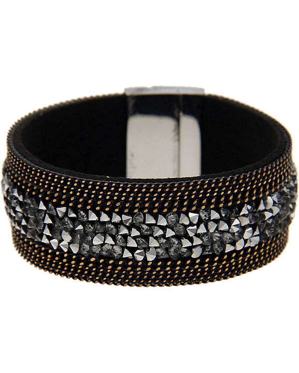 Leslii Armband schwarz