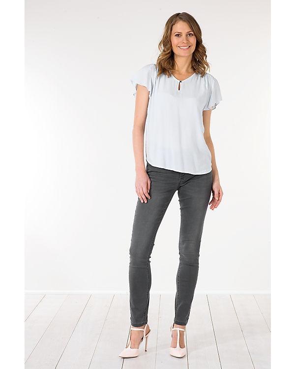 mac jeans dream skinny grau uni ambellis. Black Bedroom Furniture Sets. Home Design Ideas