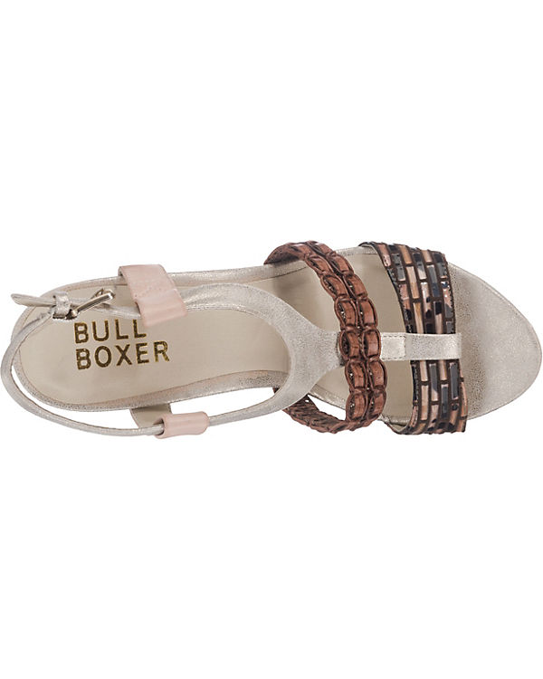 BULLBOXER Sandaletten braun-kombi