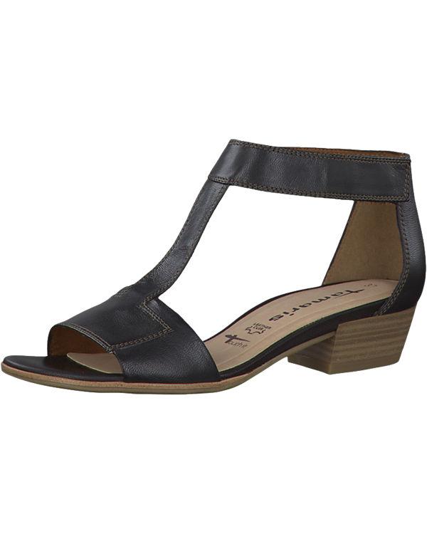 tamaris tamaris nao sandaletten schwarz ambellis. Black Bedroom Furniture Sets. Home Design Ideas