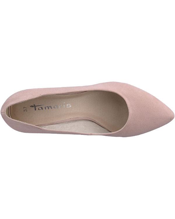 Tamaris Pumps rosa
