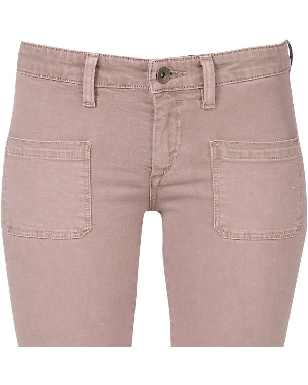 Marc O'Polo Denim Hose Super Skinny Fit rosa