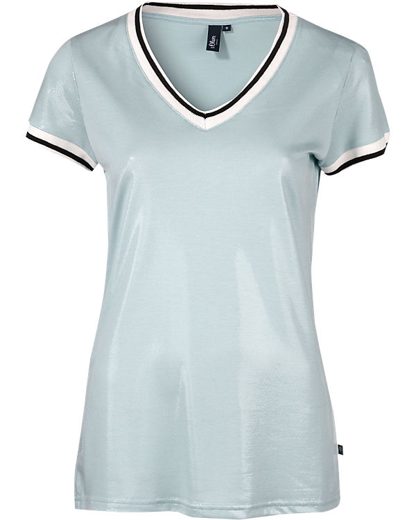 s.Oliver DENIM T-Shirt hellblau