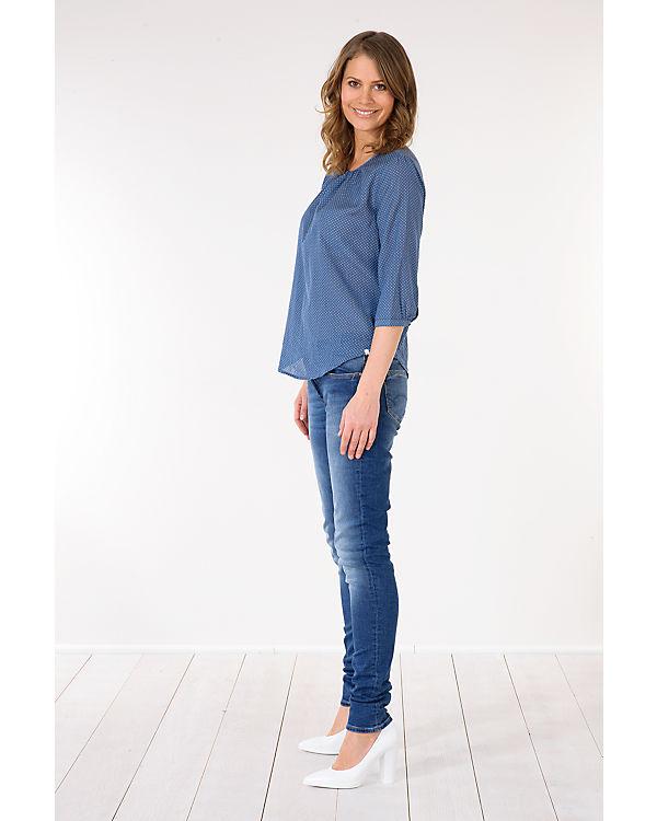 Mavi Adriana Skinny dunkelblau