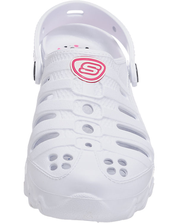 SKECHERS Step Ups Fly Abouts Clogs weiß