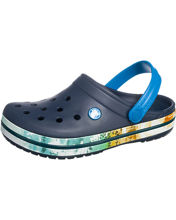 CROCS Crocband Tropical II Clogs