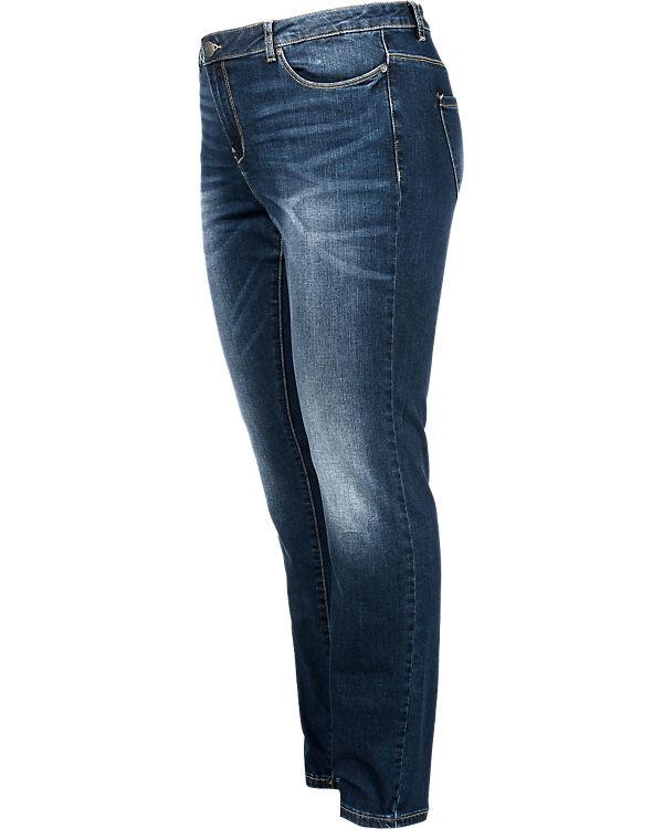 JUNAROSE Jeans Slim blue denim