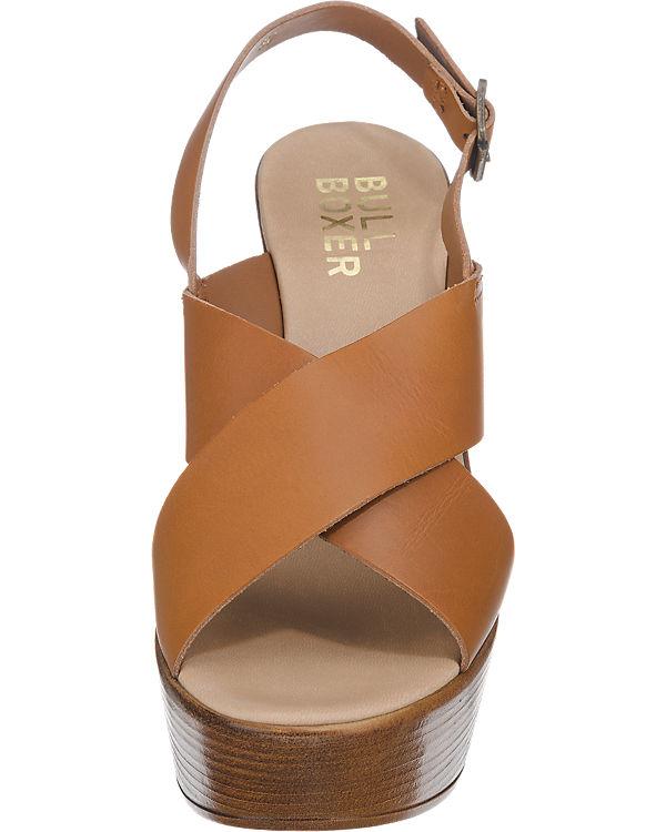 BULLBOXER Sandaletten hellbraun
