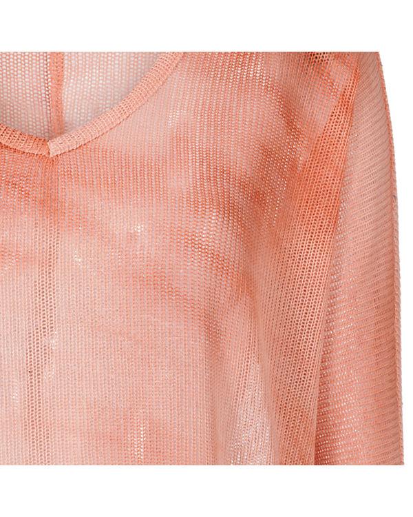 VERO MODA 3/4-Arm-Shirt Oversized orange