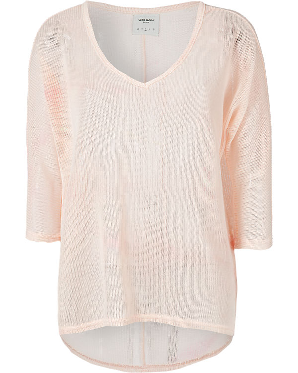 VERO MODA 3/4-Arm-Shirt Oversized rosa