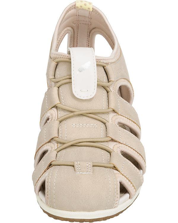 GEOX Vega Sandalen beige