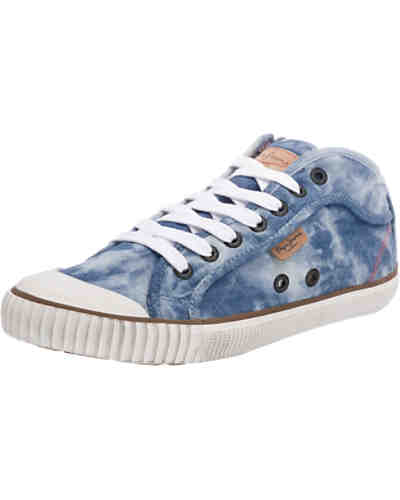 Pepe Jeans Industry Basic Denim Sneakers