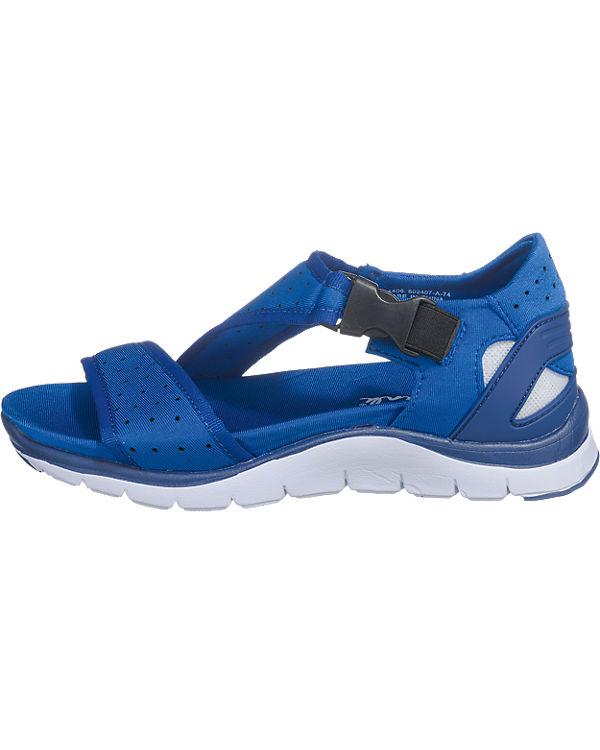 Blink® by BRONX Sandaletten blau