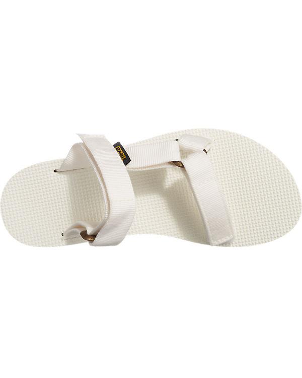 Teva Universal Slide Sandalen weiß
