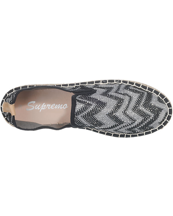 Supremo Slipper grau