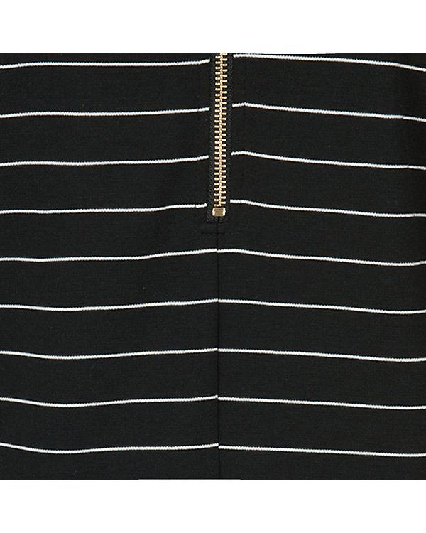 VILA Kleid schwarz/weiß