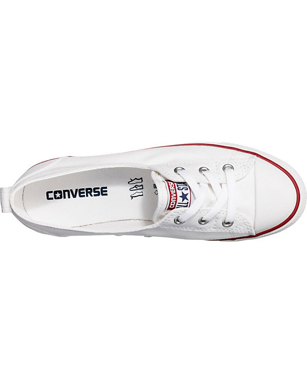 Chuck Taylor All Star Ballet Lace Slip Sneakers weiß