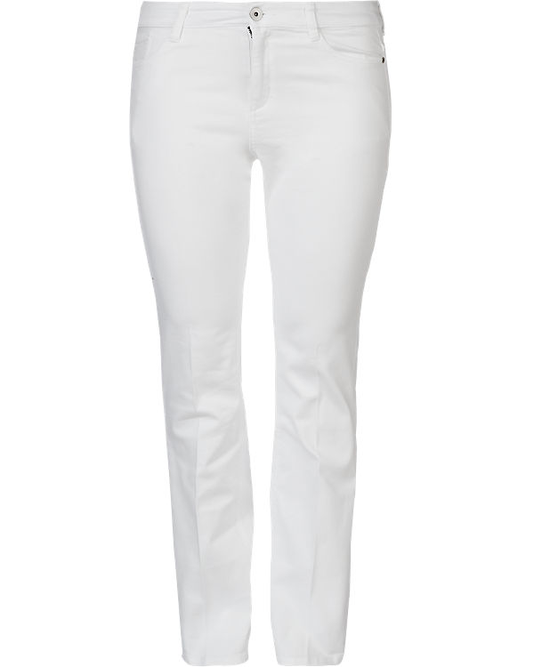 TRIANGLE by s.Oliver Jeans Bootcut Regular weiß