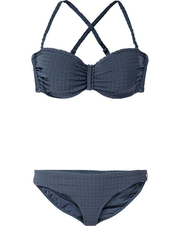 marc o 39 polo body beach bandeau bikini blau ambellis. Black Bedroom Furniture Sets. Home Design Ideas