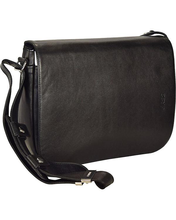Bree Bree Lady Top 11 Umhängetasche Leder 21 cm schwarz