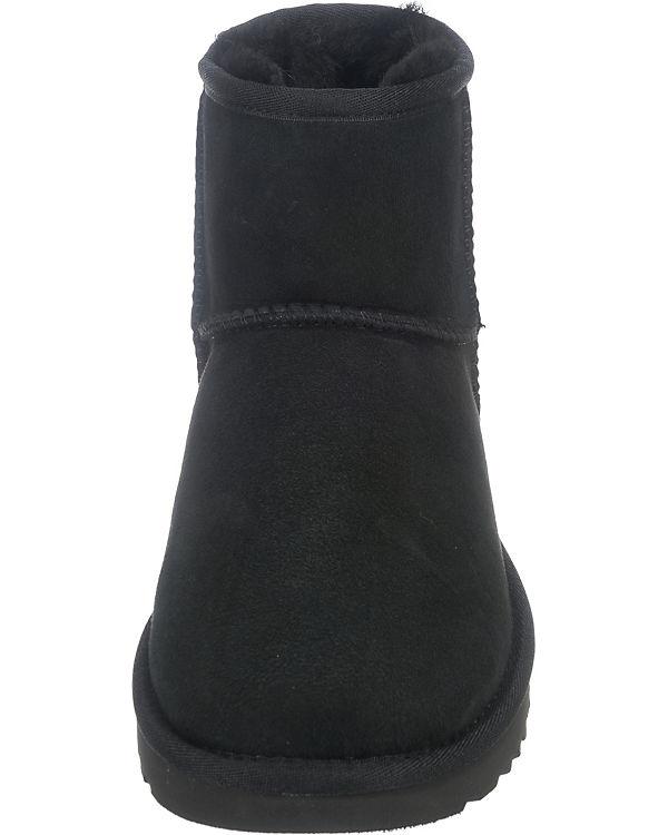 UGG Classic Mini II Stiefeletten schwarz