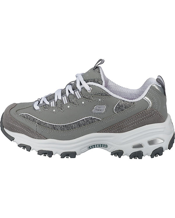 SKECHERS D'Lites Me Time Sneakers grau