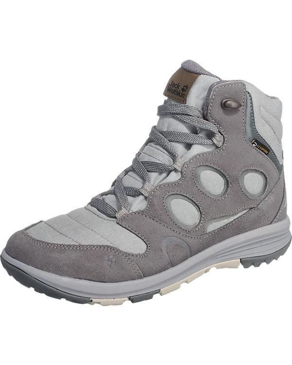 JACK WOLFSKIN Vancouver Texapore Outdoor Schuhe Stiefeletten grau-kombi
