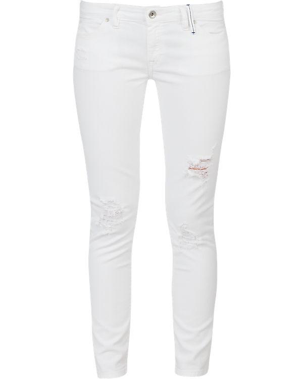 Marc O'Polo Denim Jeans Super Skinny weiß