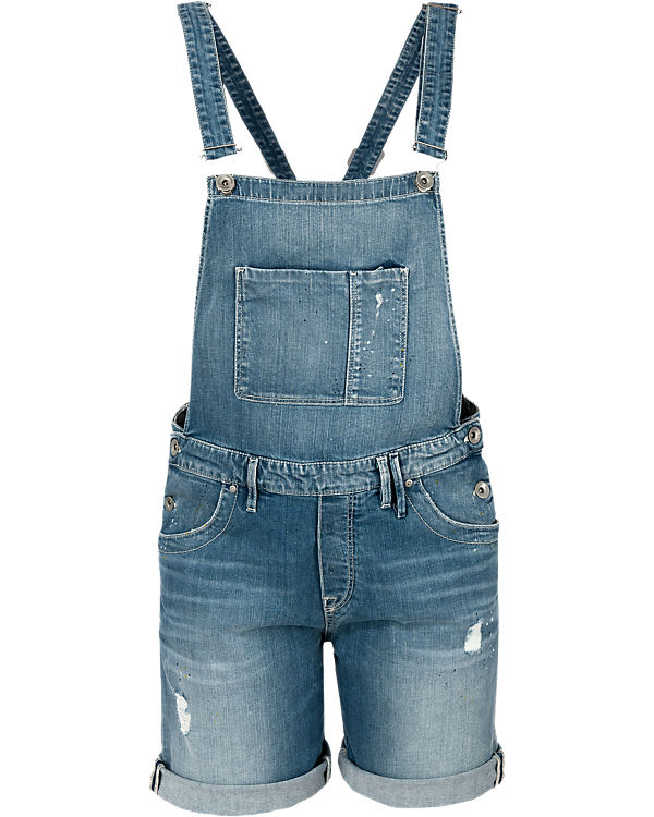 Marc O'Polo Denim Latzjeansshorts denim